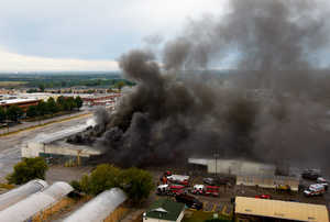 Severts Produce Columbia SC Old Farmers Market Burns